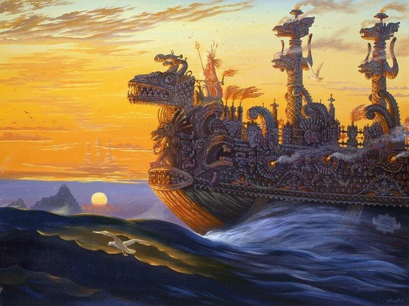 корабли гипербореи